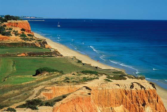 Algarve Coast Falesia
