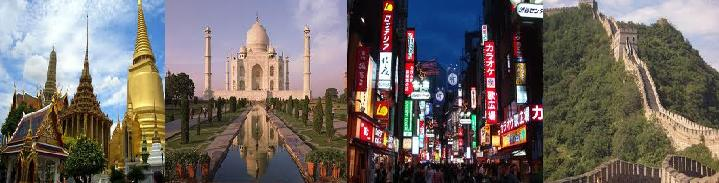 asia travel suggestions