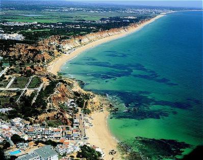 algarve falesia beach