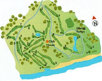 Ocean Golf Course Map