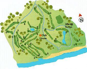 Ocean Golf Course Map