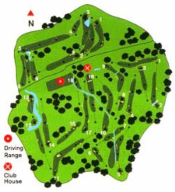Penina Golf Course Map