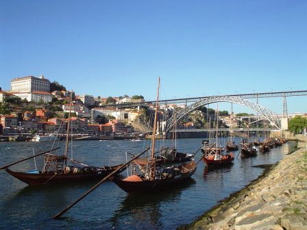 Port Wine Rabelo Boat