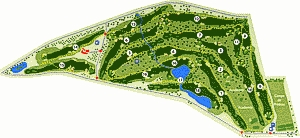 Quinta de Cima Golf Course Map