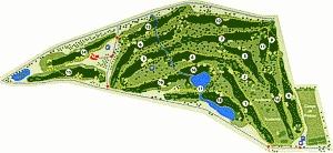 Quinta de Cima Golf Course Map