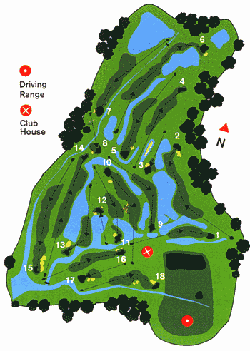 Salgados Golf Course Map