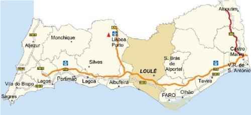 Vilamoura Map