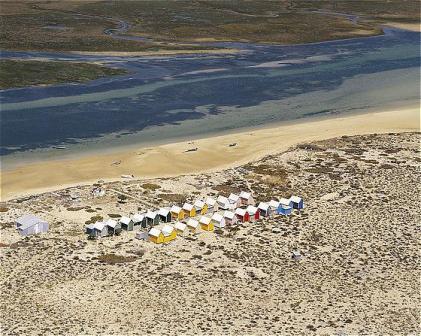 Eastern Algarve Beach