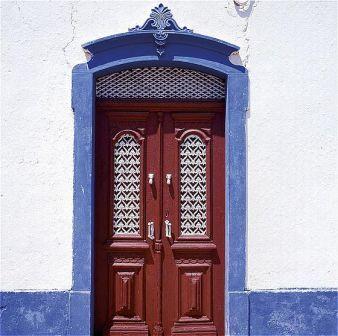 Algarve Tavira Door