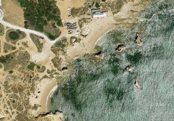 Arrifes Beach