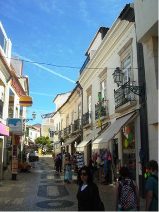 Algarve Lagos Tipical Street