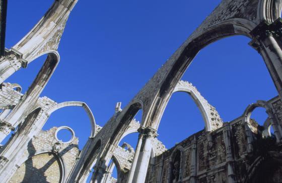 Lisbon Earthquake Church