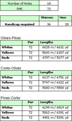 Pinheiros Altos Golf Course Details