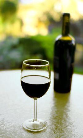 Serving Port Wine