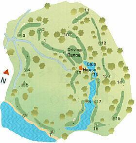 San Lorenzo Golf Course Map