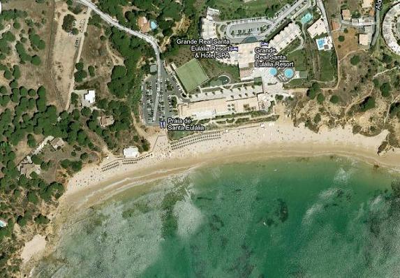 Santa Eulalia Beach